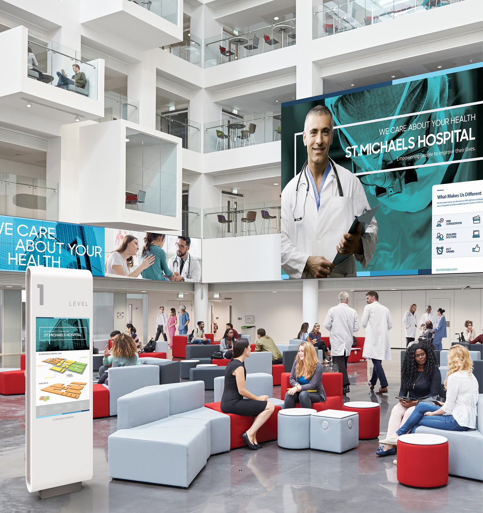 Healthcare Video Wall